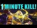 Destiny 2 Kill Calus In 1 Minute  Leviathan Raid Final Boss Guide