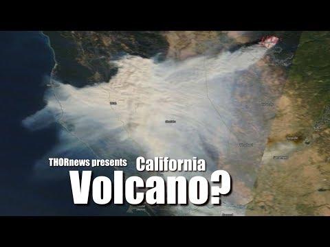California Volcano Eruption? Paradise fire is very anomalous