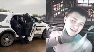 Cops CHOKE UNT student!!!
