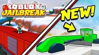 NEW UPDATE TONIGHT!? Roblox Snow Shoveling Simulator and Jailbreak! | New Grader, Train, Volt Bike!
