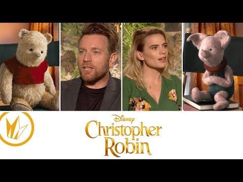 Christopher Robin: Sit Down With the Stars feat. Matthew Hoffman — Regal Cinemas [HD]