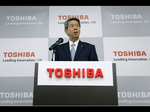 Toshiba chiefs quit over $1.B accounting scandal | Breaking News