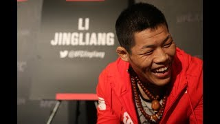 An extremely primed and pumped Li Jingliang might be the only fighter representing China at UFC Fight Night 111 this weekend,...
