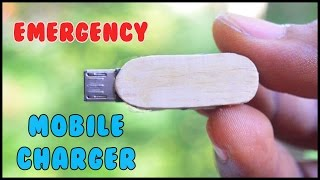 How to Make a Emergency Mobile Phone Charger / DIY Power Bank Video
