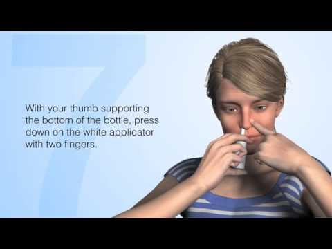 How to Use Nasal Sprays Properly
