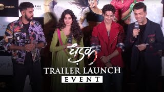 Video Dhadak | Trailer launch event | Janhvi & Ishaan | Shashank Khaitan | Karan Johar MP3, 3GP, MP4, WEBM, AVI, FLV Januari 2019