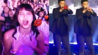 Video Maine Mendoza KILIG na KILIG sa pag SALO ni The Script Danny nang flying kiss MP3, 3GP, MP4, WEBM, AVI, FLV Maret 2019