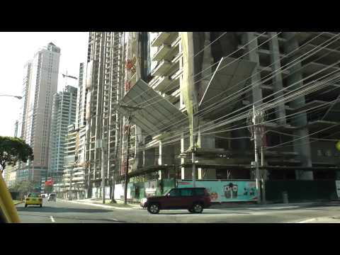 panama city - This video shows Street Views from any corner in Panama City... from the skyscrapers where the rich live for enjoying the tax haven to the ruins on one side ...