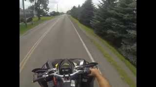 7. GOPR0 Test Run Can Am Renegade X 800 Wheelie !