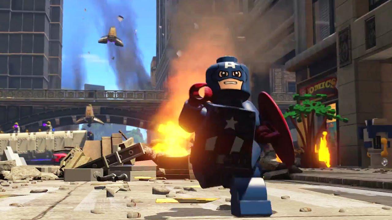 LEGO Marvel's Avengers Trailer (PS4 / Xbox One) #VideoJuegos #Consolas