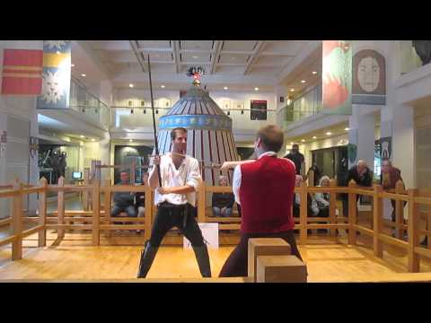 Sword Fighting Lesson At Leeds Armouries
