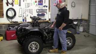 8. Yamaha Grizzly 450 Valve Adjustment