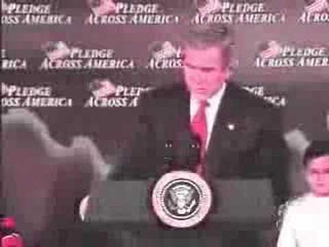 Bush Tries to Awe America Again