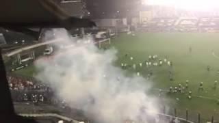 Confusão em São Januário ontem após o jogo do Flamengo x Vasco!!!
