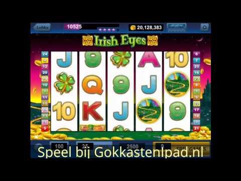 Irish Eyes gokkast - Gratis iPad Casino Slots spelen op Tablet