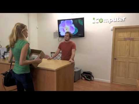 video:Marie Drops Computer