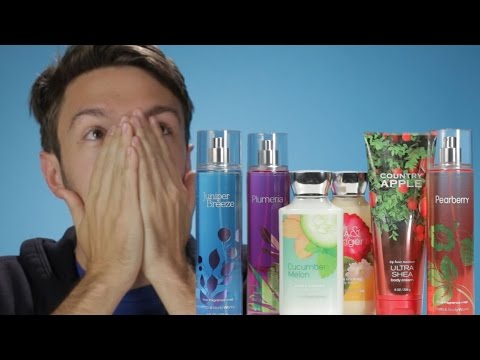 Men Review '90s Bath & Body Works Scents (видео)