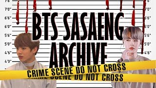 Video BTS Sasaeng Archive MP3, 3GP, MP4, WEBM, AVI, FLV September 2019