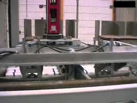 Gantry Robot for Palletising of Sugar Packs