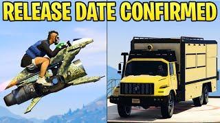 GTA Online: Oppressor Mk2 & Terrorbyte RELEASE DATE Confirmed + New Missions Coming!