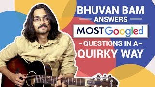 BB Ki Vines  Bhuvan Bam Answers Most Googled Questions In A Quirky Way  Safar - Music Video