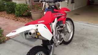 4. 2012 Honda CRF250X Walk Around