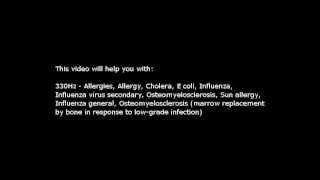 Allergies, Sun allergy, etc (Isochronic Tones 330 Hz) Pure Series