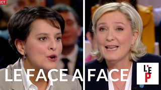 Video Face-à-face Marine Le Pen / Najat Vallaud-Belkacem - L'Emission politique (France 2) MP3, 3GP, MP4, WEBM, AVI, FLV Mei 2017