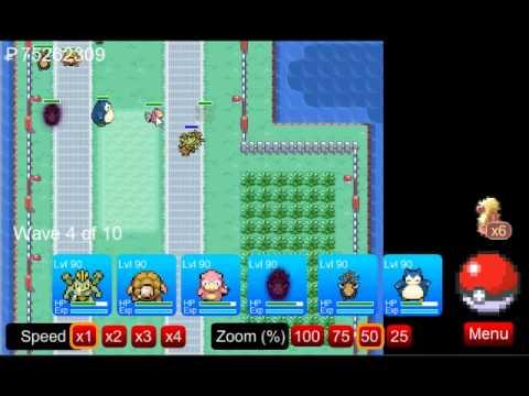 Pokemon Tower Defence -