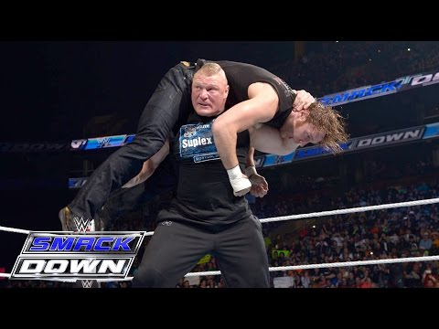 Brock Lesnar, Dean Ambrose And The Wyatt Family All Go To War: SmackDown, March 24, 2016