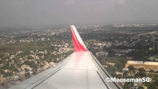 Tiruchirappalli India  city photo : ✈ Air India Express Landing@Trichy