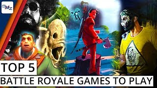5 Battle Royale games to play in 2018 that are not PUBG or Fortnite