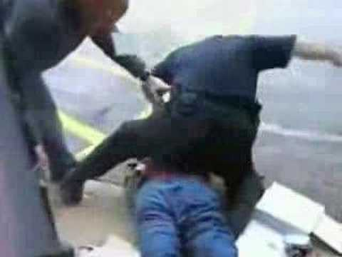 gone wild - Clips of police officers that have lost their minds. Includes cops slamming into suspects, beating them, using tazers, taking pictures with hooters girls and...
