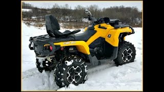 6. SOLD! 2014 Can-Am Outlander MAX 800R XT 457 Miles!