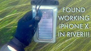 Video I Found an iPhone X Underwater in the River - Returned (2 Other Items In Pouch - BEST REACTION!!!) MP3, 3GP, MP4, WEBM, AVI, FLV Juni 2019