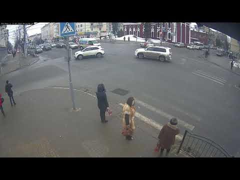 ДТП в Калуге на улице Кирова