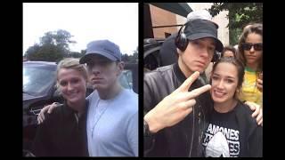 Eminem meeting fans