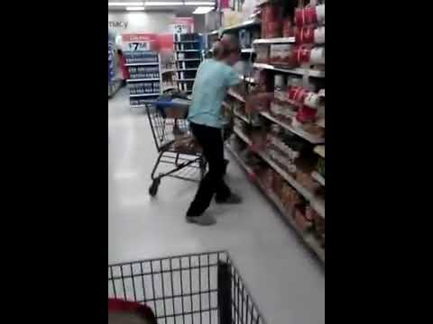 TRIPPING - Drugs make you CRAZY! SAY NO, KIDS! *This was filmed by Brandon Milberry at Westminster California walmart.