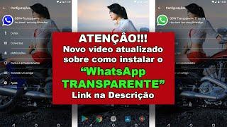 Baixar whatsapp - WhatsApp transparente Abril 2019 GBWhatsApp Transparente V-6.85  (Duas contas)