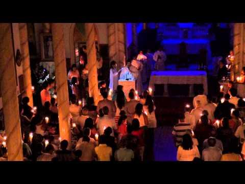 Missa da ressurreição de cristo em Itirapuã