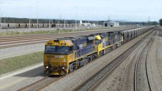 Hunter Valley Australia  City new picture : Australia: Hunter Valley Coal Trains - Hexham