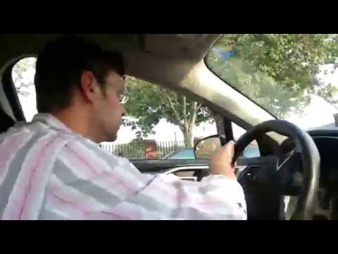How to pass your Driving test in NewYork.(Hand over hand steering)