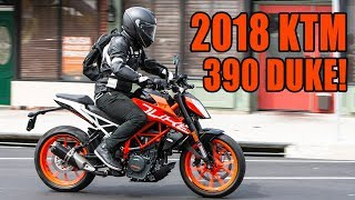 2. 2018 KTM 390 Duke Fast Facts