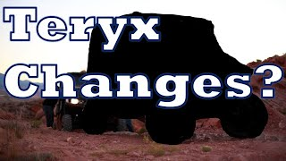 7. Changes to the Teryx - Due for a redesign?