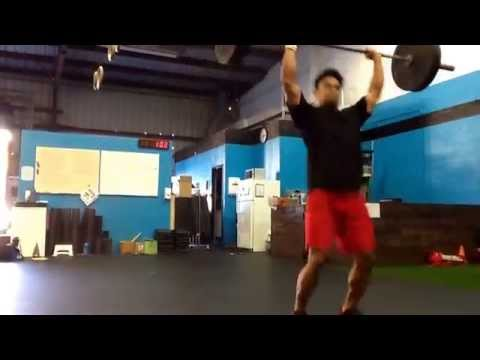 Marcus Ofoia, CrossFit 808. #waikokosub3 #vagames grace challenge