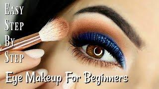 Beginner Eye Makeup Tips & Tricks | HOW TO MAKE BROWN EYES POP