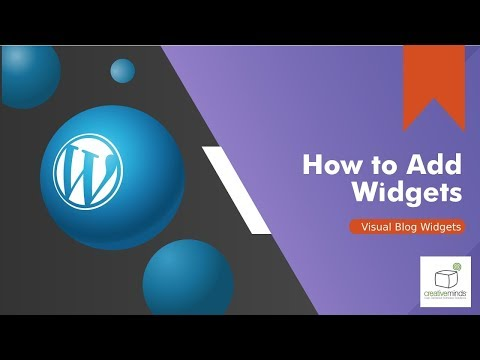How to add great visual Widgets to your WordPress Blog