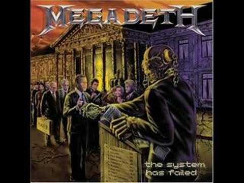 Megadeth the scorpion