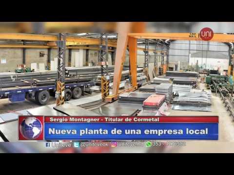 Cormetal abre su tercer planta de produccion