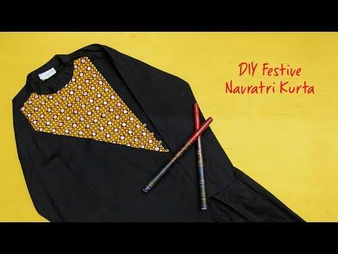 DIY Festive Navratri Kurta